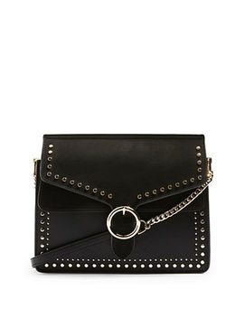 Peony Studded Shoulder Bag by Topshop