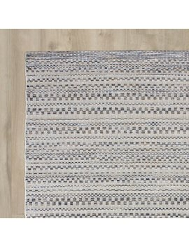 Union Rustic Macaire Dark Blue/Ivory Indoor/Outdoor Area Rug & Reviews by Union Rustic