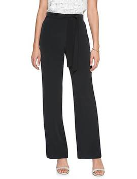 Petite Tie Waist Pull On Pant by Banana Republic Factory