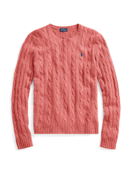 Cable Wool Cashmere Sweater by Ralph Lauren