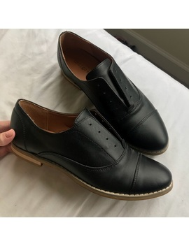 Black Oxford Loafers by Indigord