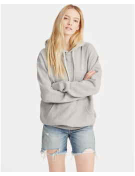 Fleece Hoodie Pullover by Ralph Lauren