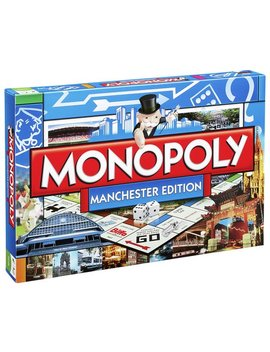 Manchester Monopoly Board Game by Argos