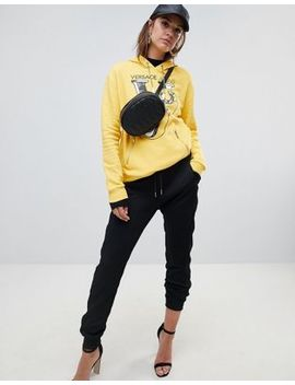 Versace Jeans – Jogginghose Mit Logo In Metallic, Kombiteil by Versace