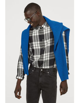 Regular Fit Flannel Shirt by H&M