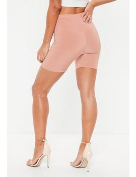 Pink Slinky Cycling Shorts by Missguided