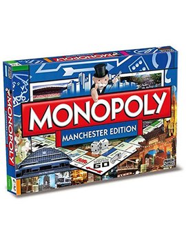 Winning Moves Manchester Monopoly Board Game by Winning Moves