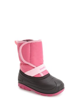 Pika Waterproof Faux Fur Lined Snow Boot (Toddler) by Kamik