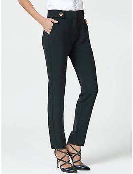 Button Detail Trouser by Guess