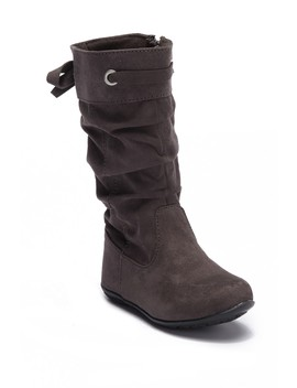 Scrunch Faux Suede Boot (Toddler) by Harper Canyon