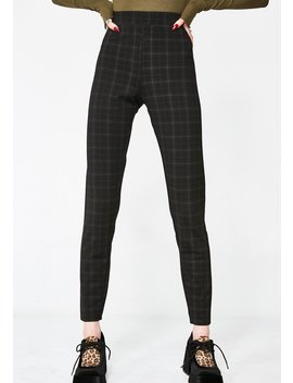 Almost Home Plaid Leggings by Emory Park
