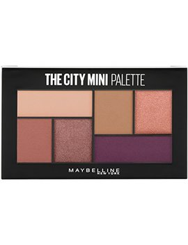Maybelline The City Mini Eyeshadow Palette Makeup, Blushed Avenue, 0.14 Oz. by Maybelline New York