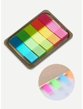 Bookmark Sticky Note Set by Romwe