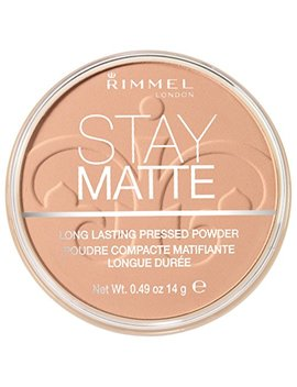 Rimmel Stay Matte Pressed Powder, Silky Beige, 0.49 Fluid Ounce by Rimmel