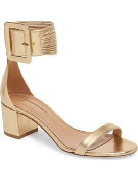 Casablanca Ankle Cuff Sandal by Aquazzura