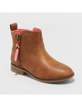 Girls' Asha Western Ankle Boots   Cat & Jack™ by Shop All Cat & Jack™