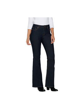 "<Div Class=""Pd Short Desc Label"">Make Your Selection:</Div> Susan Graver Stretch Denim Flare Leg Jeans by Qvc"