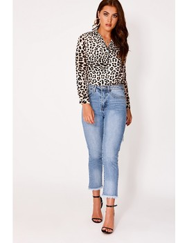 Binky Brown Leopard Print Shirt by In The Style