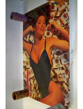 """Miller Lite Beer Swimsuit Girl Poster 20"""" By 30"""" by Ebay Seller"""