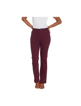"<Div Class=""Pd Short Desc Label"">Make Your Selection:</Div> Belle By Kim Gravel Flexibelle 5 Pocket Boot Cut Jeans Reg. by Qvc"