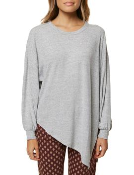Flores Asymmetrical Knit Pullover by O'neill