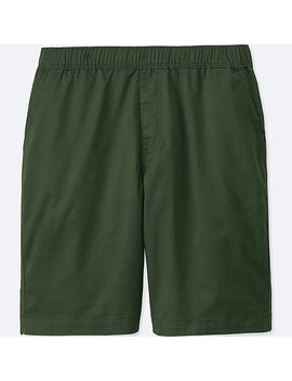 Men Dry Stretch Woven Easy Shorts by Uniqlo