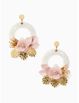 Slice Of Stone Statement Door Knocker Earrings by Kate Spade