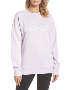 Blonde Sweatshirt by Brunette The Label