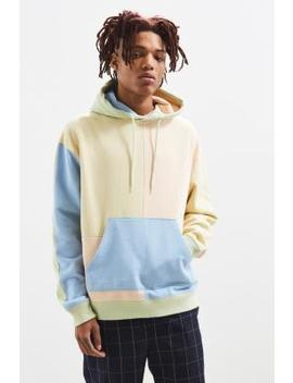 Uo Pastel Colour Block Hoodie by Urban Outfitters
