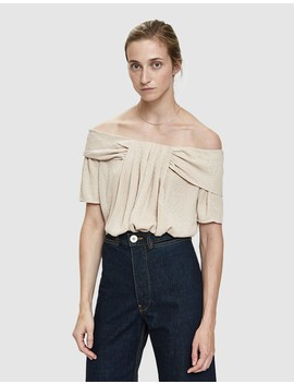 Frambuesa Draped Blouse by Farrow