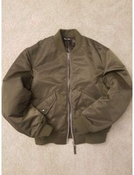 Lemaire U X Uniqlo Ma 1 Blouson Military Bomber Jacket Men's Xs Olive by Uniqlo
