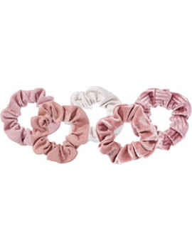 Matte Scrunchies Blush/Mauve by Kitsch