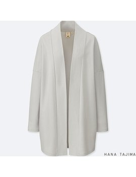 Women Hpj Cotton Long Sleeve Long Cardigan by Uniqlo