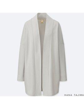 Women Hpj Cotton Long Sleeve Long Cardigan by Uniqlo