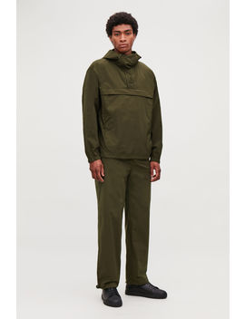 Hooded Pullover Jacket by Cos