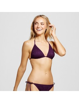 Women's Crochet Triangle Bikini Top   Mossimo™ by Shop This Collection