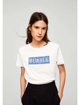 T Shirt Bubble by Mango