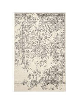 "Everest Ivory & Silver 5'1""X7'6"" Rug by Pier1 Imports"