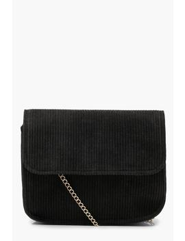 Corduroy Cross Body Bag by Boohoo