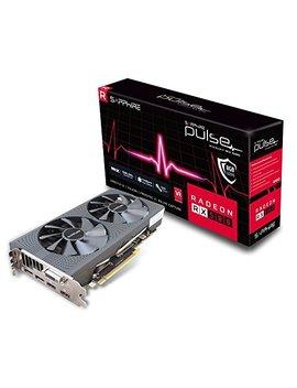 Sapphire Pulse Radeon Rx 580 8 G Gddr5 Dual Hdmi/Dvi D/Dual Dp Graphics Card   Black by Sapphire