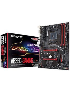Gigabyte Ga Ab350 Gaming Amd Ryzen Cpu Am4 Socket Ddr4 Pc Ie Gen 3 Usb 3.1 Atx Motherboard by Gigabyte