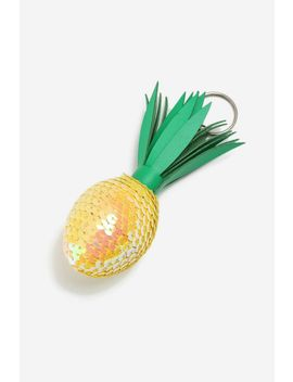 **Pineapple Keyring by Topshop
