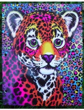 Lisa Frank Retro 2 Pocket Glitter Folder You Pick ~ Multiship Discount by Lisa Frank