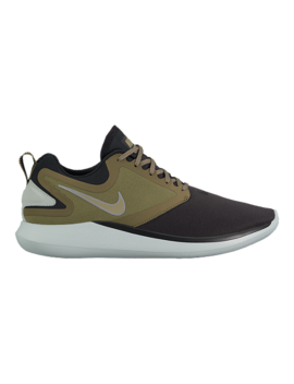 Nike Men's Lunar Solo Running Shoes   Black/Olive/Volt by Sport Chek