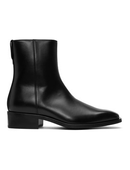 Black Zippered Boots by Stella Mccartney