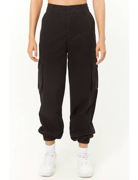 High Waist Cargo Pants by Forever 21