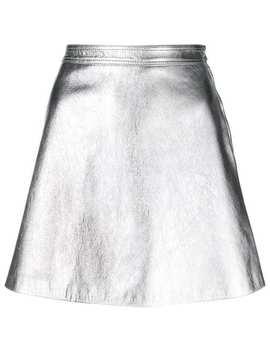 Moschinominijupe évaséeaccueil Femme Moschino Vêtements Jupes Trapèze Suzi Combat Bootsminijupe évasée by Moschino