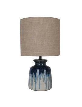 Better Homes And Gardens Ceramic Ombre Drip Table Lamp / Blue by Better Homes & Gardens