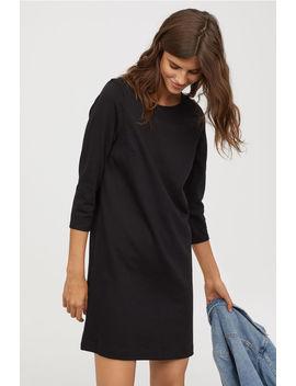 Kleid Aus Baumwolljersey by H&M