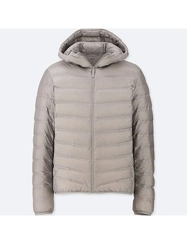 Heren Ultra Licht Neer Naadloos Parka by Uniqlo
